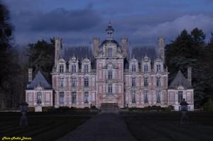 Le Château de Beaumesnil dans l'Eure dans Photo der02353-300x199